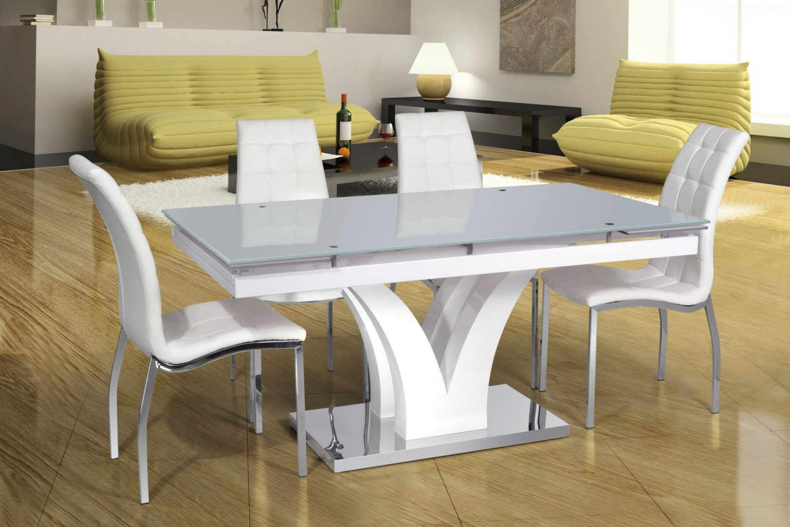 Раздвижные столы для кухни фото