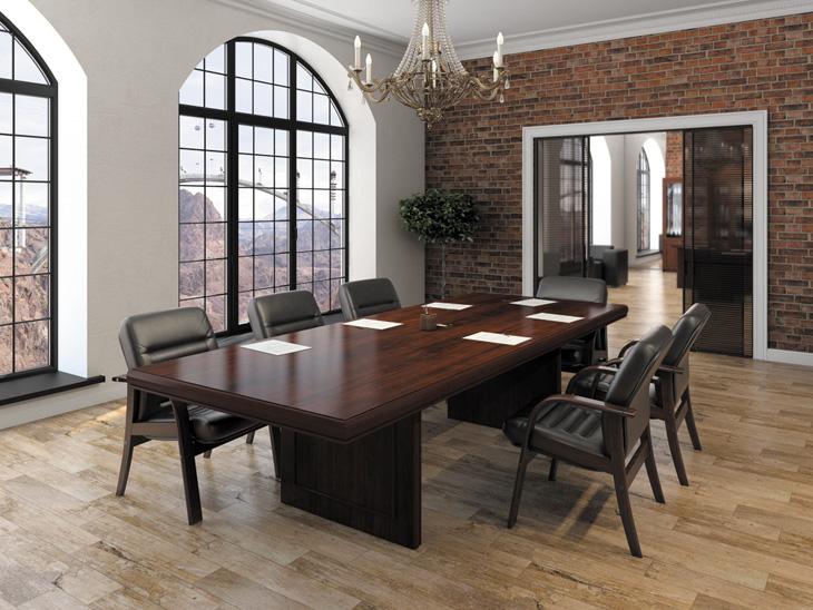 Столы для переговоров: как мебель становится залогом успеха?
