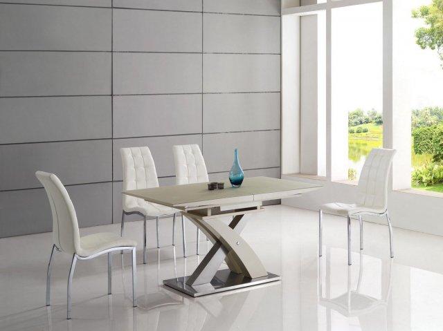 Стеклянный переговорный стол