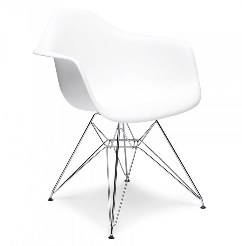 Стул Eames Style Dar Chair White