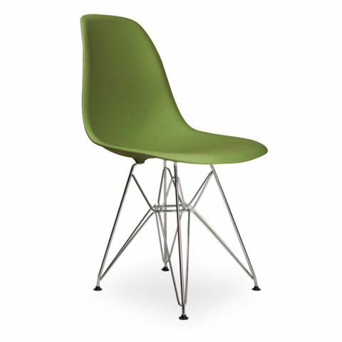 Стул Eames Style DSR Chair Lime