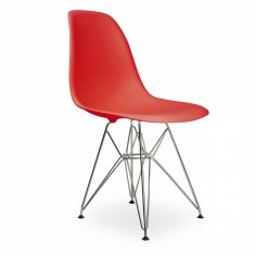 Стул Eames Style DSR Chair Red