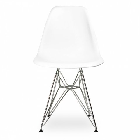 Стул Eames Style DSR Chair White