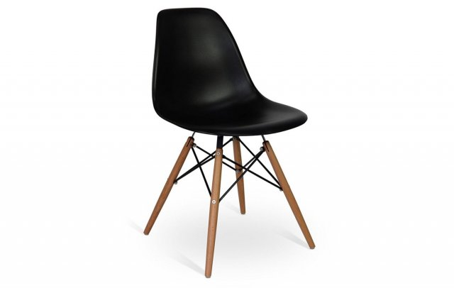 Стул Eames Style DSW Chair Black