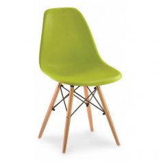 Стул Eames Style DSW Chair Green