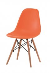 Стул Eames Style DSW Chair Orange